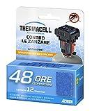 Thermacell 48 Ore Piastrine-Back Packer Ricarica per Dispositivi per la Protezione dalle Zanzare, Blu, 12.95x10.16x2.54 cm