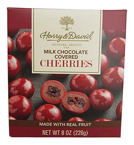 Harry and David, Milk Chocolate Covered Cherries, 8 ounces.