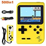 Enouvos Handheld Game Console, Retro Mini Game Player with 500 Classical Games 3.0-Inch