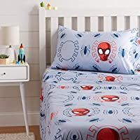 AmazonBasics by Marvel Spiderman Spidey Crawl Bed Sheet Set