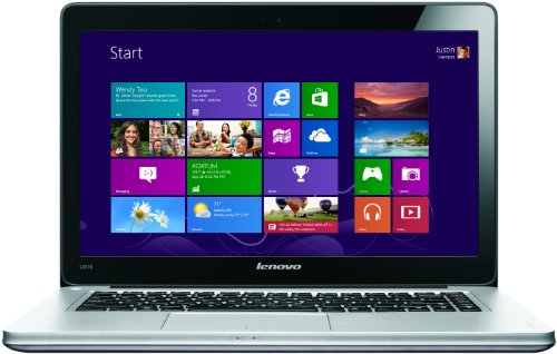 Lenovo Ideapad U410 14-inch Ultrabook - (Intel Core i7 3517U 1.9GHz Processor, 8GB RAM, 1TB HDD + 24 GB SSD, Nvidia 1GB Graphics, Windows 8) (Graphite)