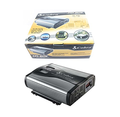 Cobra CPI 1575 1500 Watt 12 Volt DC to 120 Volt AC Power Inverter