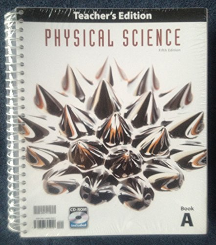 Price comparison product image Physical Science Teacher Ed