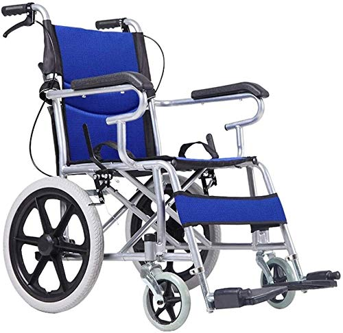 Syxfckc Manuelle Rollstühle, Fahrdeck, Rahmen Plattieren manuellen Rollstuhl, Walker älteren