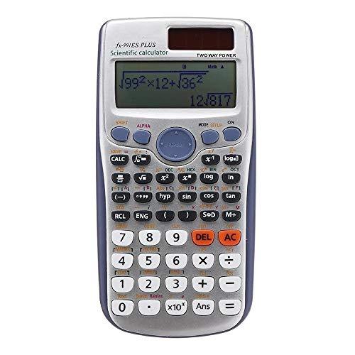 Wuxingqing Calculator 417 functies Student College Matrix Complex vergelijking wetenschappelijke rekenmachine school examen multifunctionele functie Calculator