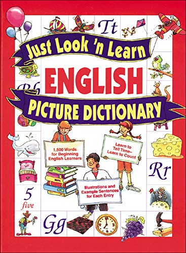 Just Look 'n Learn English Picture Dictionary (Just Look ©n Learn Picture Dictionary Series)の詳細を見る