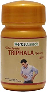 Herbal Canada Ayurvedic Triphala Tablets (100 Tab) by Exportmall