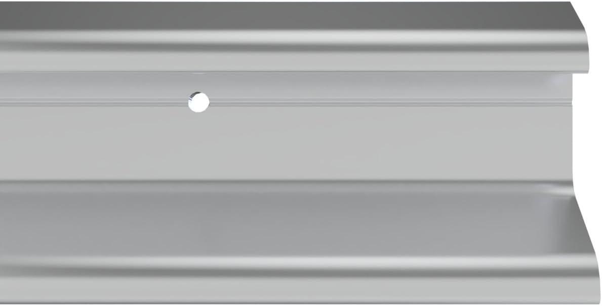 Stormguard 07sr1630914a doble Fin lluvia Deflector meteorológica Bar aluminio, aluminio, 914mm (3'0