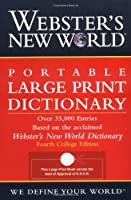 Webster's New World Portable Large Print Dictionary, Second Edition