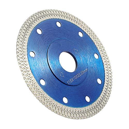 Youool 115 mm Disco de corte de diamante,Hoja de sierra de diamante turbo de para cortar azulejos de porcelana, cerámica de mármol de Azulejos,Mármol,Granito,Piedra caliza