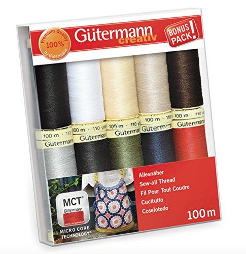 Hilo de coser Gutermann Basic Colours