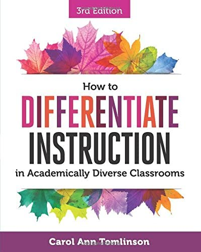 How to Differentiate Instruction in Academically Diverse Classrooms product image