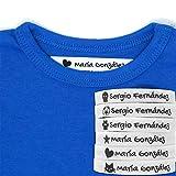 100 Etiquetas Termoadhesivas Personalizadas con Icono para marcar la ropa....