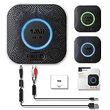 1Mii Bluetooth Empfänger, Aux Bluetooth Audio Adapter für Musikstreaming-Soundsystem,APTX...
