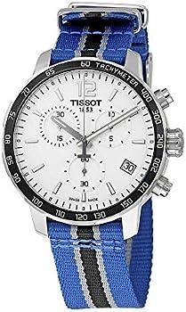 Tissot Mens 42mm Quickster Chronograph NBA Timberwolves or Suns Watch
