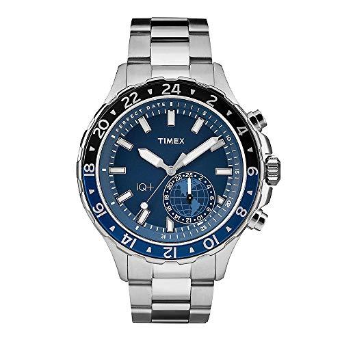 Timex Orologio Analogico Quarzo Uomo con Cinturino in Acciaio Inox 753048716272