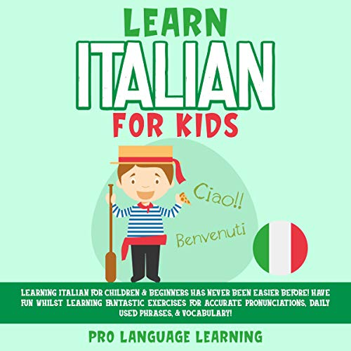 Learn Italian for Kids cover art