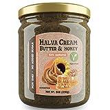 Burro Crema Halva con Miele | Non OGM | Senza Zuccheri Aggiunti | 100% Superfood