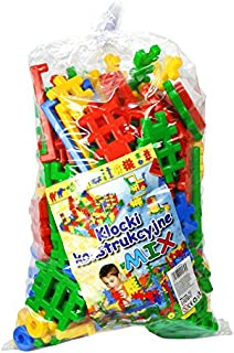 Tupiko Tupiko-KK190 190 Piece Constructional Blocks Mix, Multi-Color