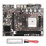 T osuny DDR3 Computer Motherboard, Dual‑Core Quad‑Core Motherboard with 1×PCI-E X16 Graphics 4xSATA2.0 Interface, VGA+DVI Video Output Interface Motherboard