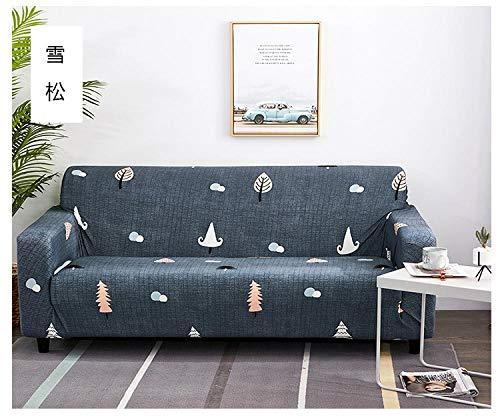 Allenger Funda de sofá Elastica,Funda de sofá elástica, Funda de protección Universal para Muebles de Cuatro Estaciones, Funda de sofá Antideslizante Impresa con Todo incluido-12_S90-140cm