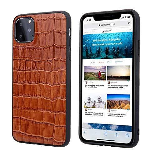 fundas iphone 11 max piel de cocodrilo fabricante SUOFEILAIMU-PHONE CASE