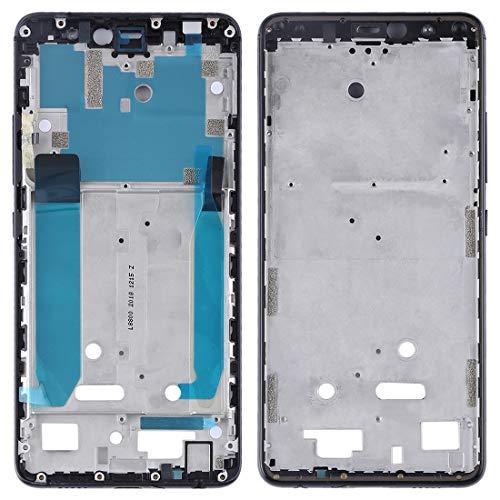 Zhangl Reparación de Repuesto Placa de Bisel de Marco de LCD Frontal con Teclas Laterales for BQ Aquaris X2 / X2 Pro Reparación de Repuesto (Color : Black)