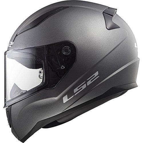 LS2, Casco integral de moto Rapid, titanio, S