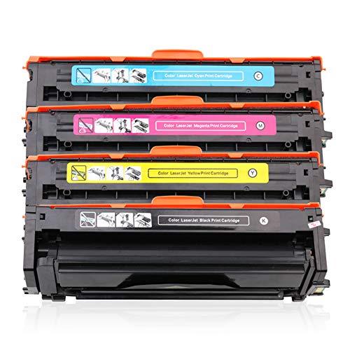 Modelo CLT-K506S Cartucho de tóner de color compatible para Samsung CLP-680DW 680ND CLX-6260ND 6260FD 6260FR 6260FW (negro, rojo, azul, amarillo, 4 unidades)