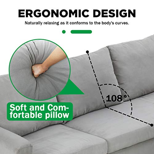 FDW Sectional Sofa Product Image
