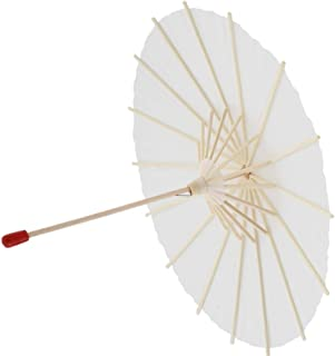 1/3 Scale Open & Close Oil Paper Umbrella Beige Parasol for 23 24 inch Girl Doll & Ball Jointed Dolls BJD - S