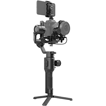 DJI Ronin-SC Pro Combo - Camera Stabilizer 3-Axis Gimbal Handheld for Mirrorless Cameras up to 4.4 lbs / 2kg Payload for Sony Panasonic Lumix Nikon Canon with Focus Wheel, Black