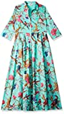 BIBA Cotton Bubble Hem Dress (DRESSES14923_Sea Green_S (32))