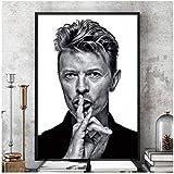 A&D David Bowie Schwarz Weiß Musik Band Sänger