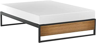 Zinus Suzanne 14 Inch Platform Bed without Headboard, Full