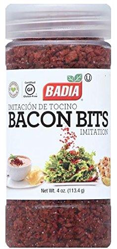 Badia Bacon Bits Imitation, 4 Ounce (Pack of 6)