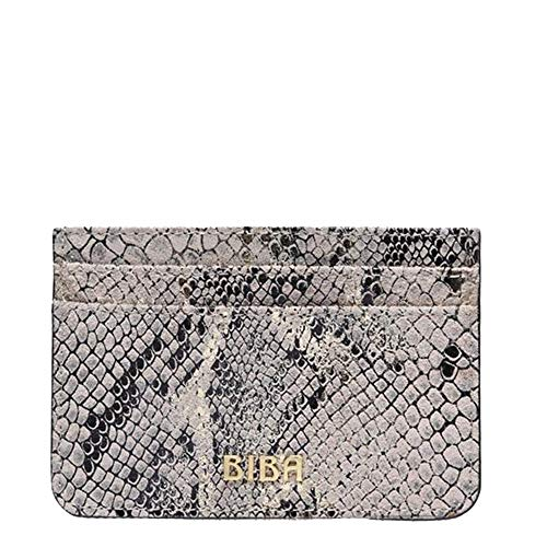 Biba Womens Textured Leather Multiple Card Holder (Gold, One Size)