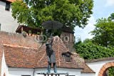 druck-shop24 Wunschmotiv: Brunnen Krättaweber in ULM