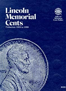 Coin Folders Cents: Lincoln Memorial (Official Whitman Coin Folder)