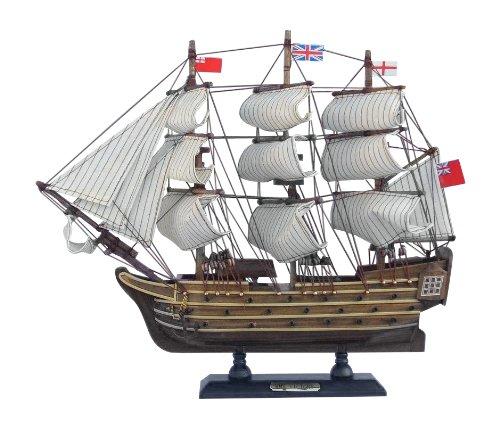"Hampton Nautical  HMS Victory Ship, 14"""