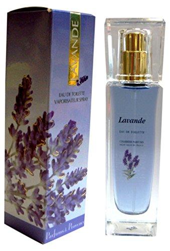 Charrier Parfums Gamme Provence, Lavande, Spray Eau de Toilette, Aromatique, 30 ml