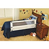 Regalo Hide Away Extra Long Bed Rail, White (2-Pack)