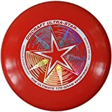Discraft Ultra-Star 175g Ultimate Frisbee - Starburst - Red by New Games - Frisbeesport