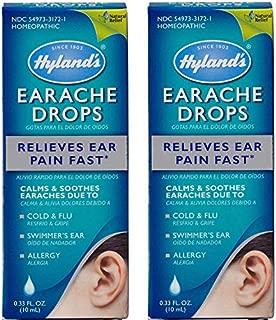 Hyland's Earache Drops, 0.33oz. Per Pack (2 Pack)
