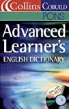 Collins Cobuild Advanced Learner's English Dictionary, w. CD-ROM
