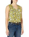 Kasper Women's Sleeveless V-Neck GEO Giraffe Print...