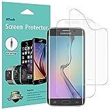 JETech Pellicola Protettiva Compatibile con Samsung Galaxy S6 Edge, Pellicola Ultra HD TPE, Copertura Completa, Pacco da 2