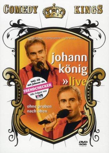 Johann König - Live - Ohne Proben nach oben [2 DVDs]