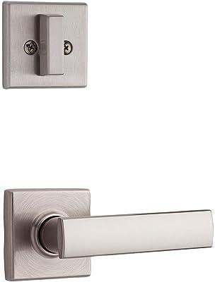 Kwikset 974VDL SQT 15 Vedani Single Cylinder Interior Pack for Contemporary Handlesets, Satin Nickel