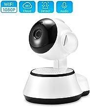 Bullet Surveillance Cameras,Wireless Security Camera IP Camera WiFi Home CCTV Camera 720P Audio Surveillance 64G SD Card